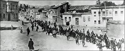 O genocídio arménio