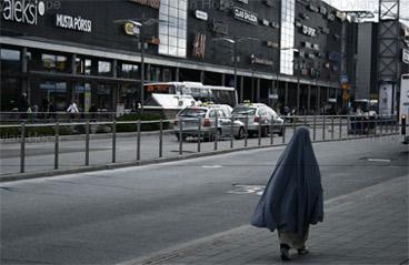 Mulher de burka