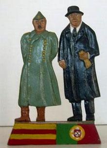 Franco e Salazar