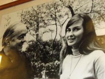 Vinicius e a garota de Ipanema