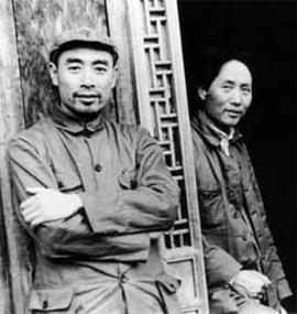 Chu En-Lai e Mao Tsé-Tung