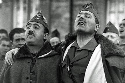 Franco e Millán-Astray