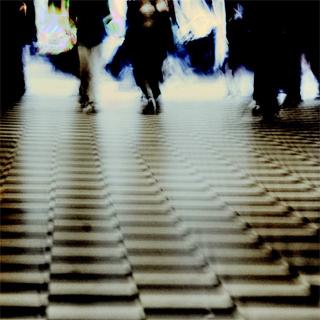 Luzes e pessoas
