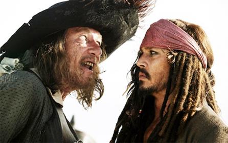 Barbossa & Sparrow