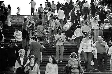 As escadas