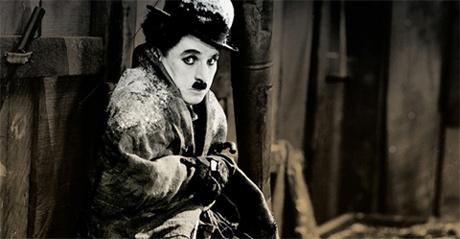 Chaplin em A Quimera do Ouro