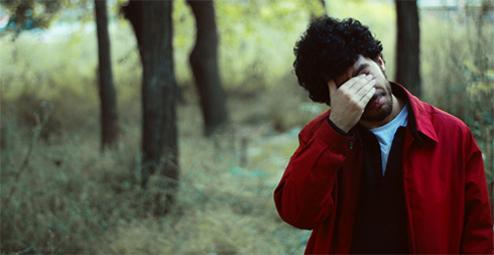 O pessimista. Img. de Elif Sanem Karakoç