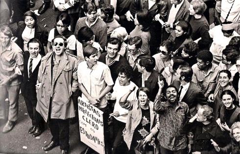 Passeata dos Cem Mil. Rio, 26/6/1968